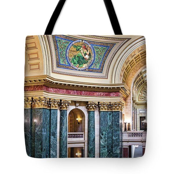 Capitol - Madison - Wisconsin Tote Bag