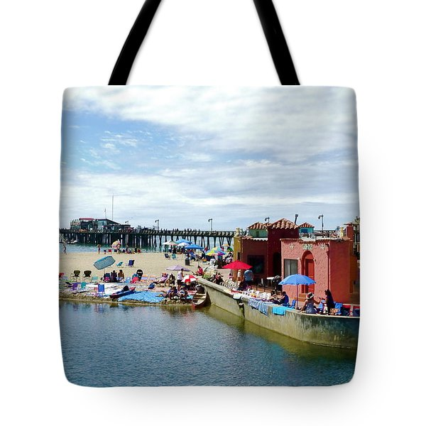 Capitola Begonia Festival Weekend Tote Bag by Amelia Racca
