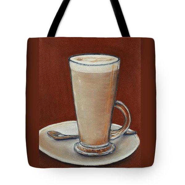 Cappuccino Tote Bag by Anastasiya Malakhova