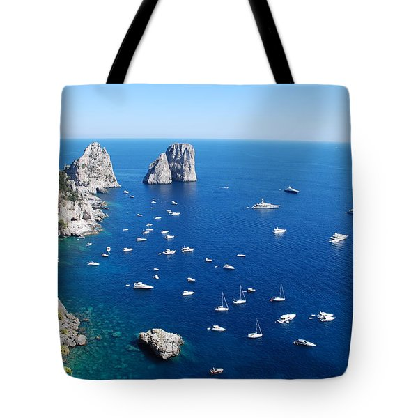 Capri  Tote Bag by Dany Lison