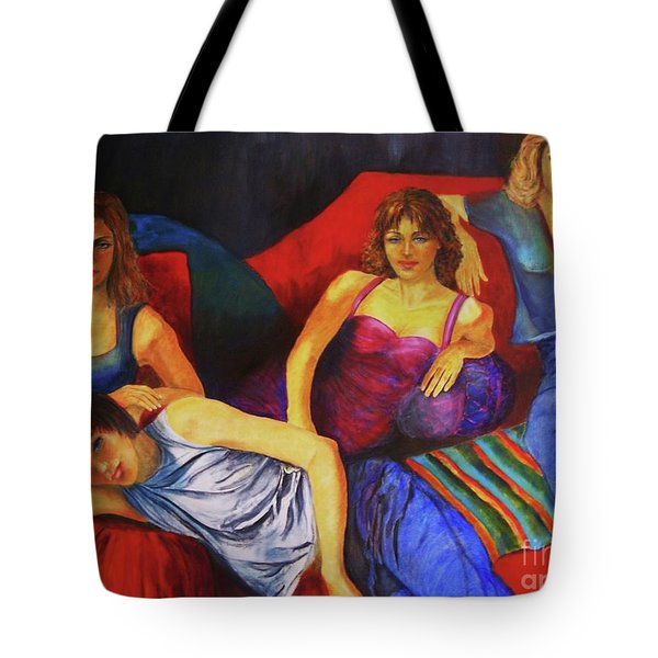 Capricious Luck Tote Bag