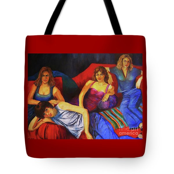 Capricious Luck Tote Bag by Dagmar Helbig
