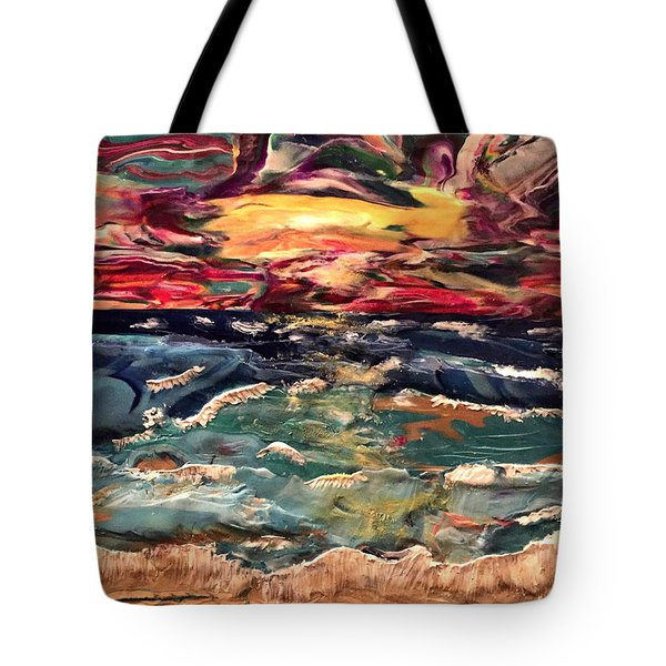 Capricious Sea Tote Bag