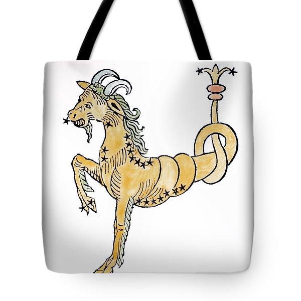 Capricorn An Illustration Tote Bag by Italian School