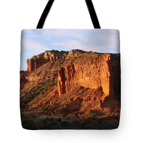Tote Bag featuring the photograph Caprock Canyon by Linda Cox