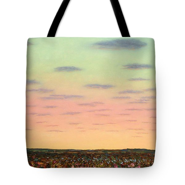 Caprock Sunrise Tote Bag