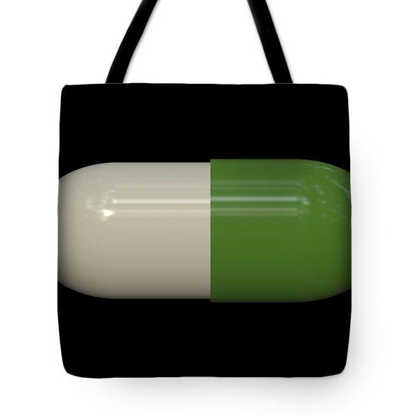Capsule Pop Art Tote Bag by Daniel Hagerman