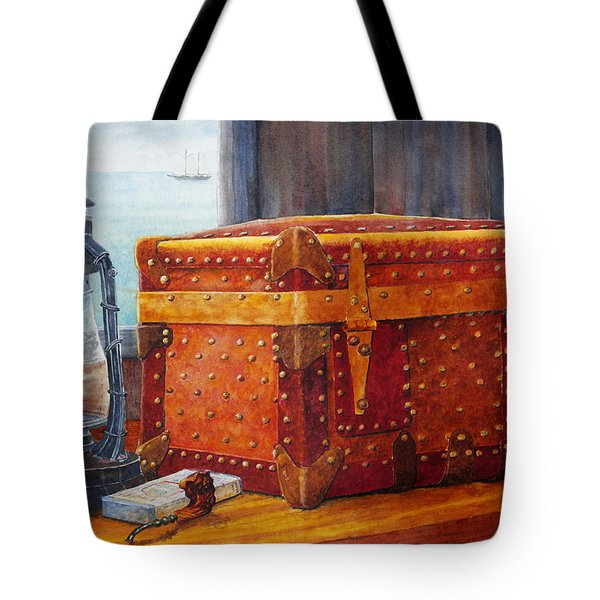 Capt. Murray's Chest Tote Bag by Roger Rockefeller