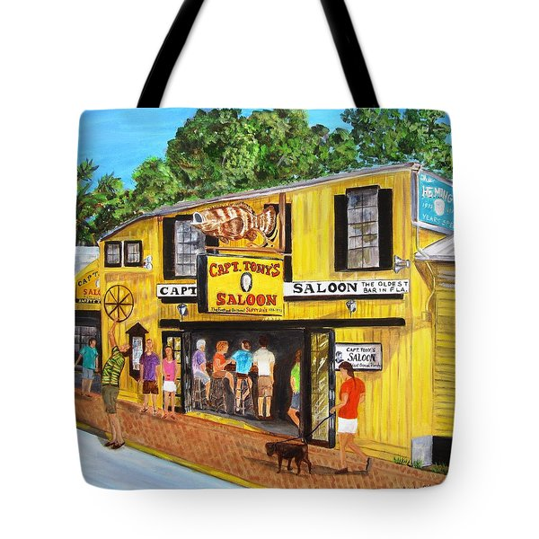 Capt. Tony's Lucky Shot Tote Bag