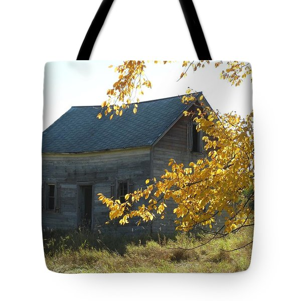 Tote Bag featuring the photograph Captain Ed's Homestead by Penny Meyers