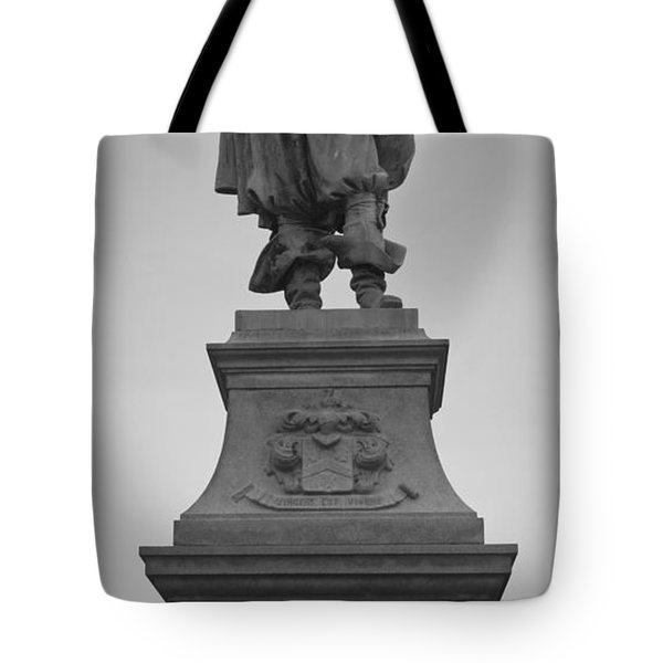 Captain John Smith Tote Bag by Teresa Mucha