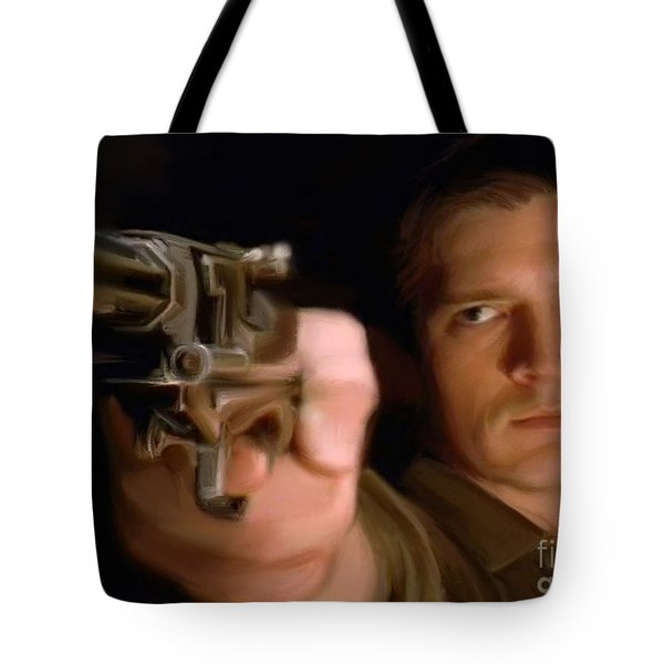 Captain Mal Tote Bag by Paul Tagliamonte