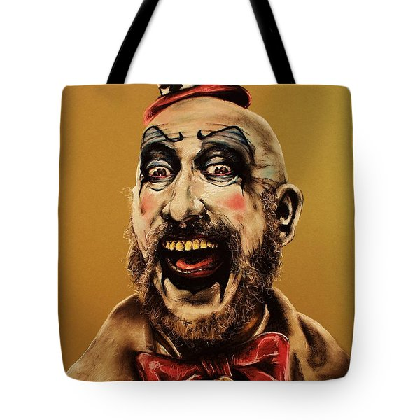 Captain Spalding Tote Bag by Brent Andrew Doty