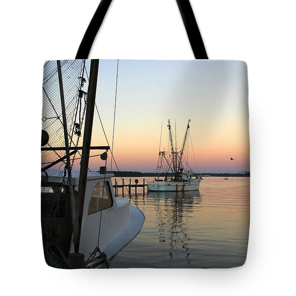 Captain Tony - In For The Night Tote Bag by Mike McGlothlen