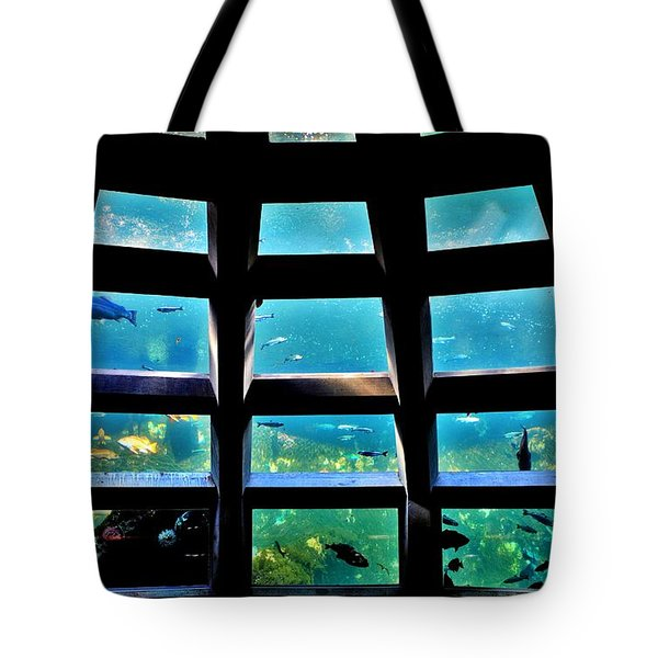 Captaining The Nautilus Tote Bag by Benjamin Yeager