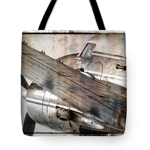 Tote Bag featuring the photograph Captain's Flight by Steven Bateson