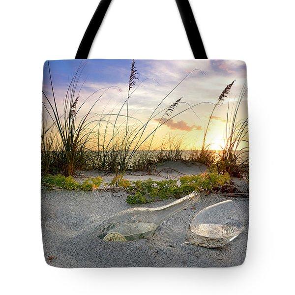 Captiva Sunset Tote Bag by Jon Neidert