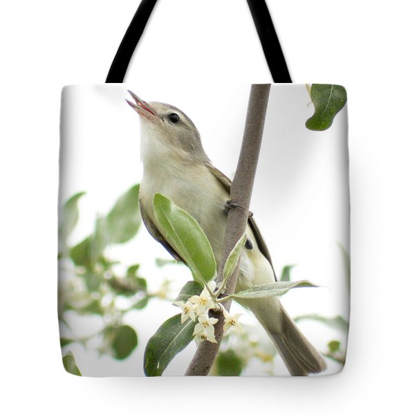 Captivating Vireo Tote Bag