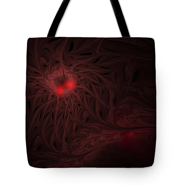 Tote Bag featuring the digital art Captive Soul by GJ Blackman