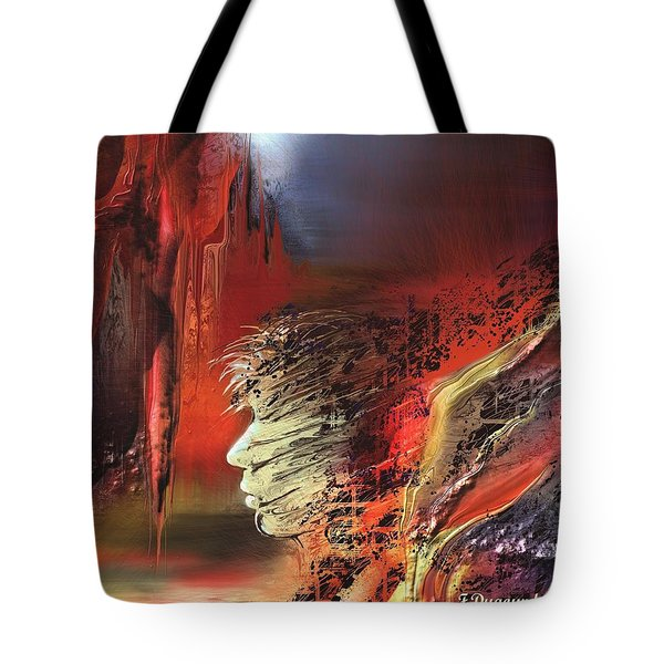 Captivite Tote Bag by Francoise Dugourd-Caput