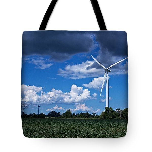 Capture The Wind Tote Bag
