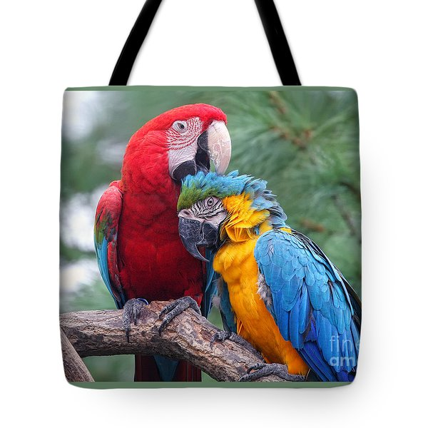 Grooming Session Tote Bag
