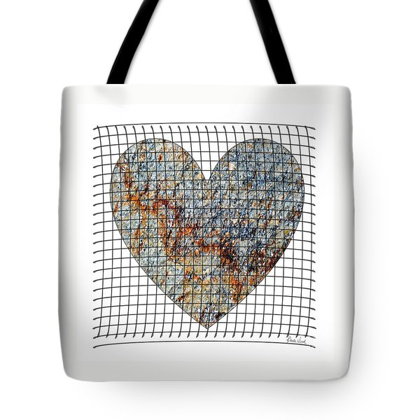 Tote Bag featuring the digital art Captured Love- No1 by Darla Wood