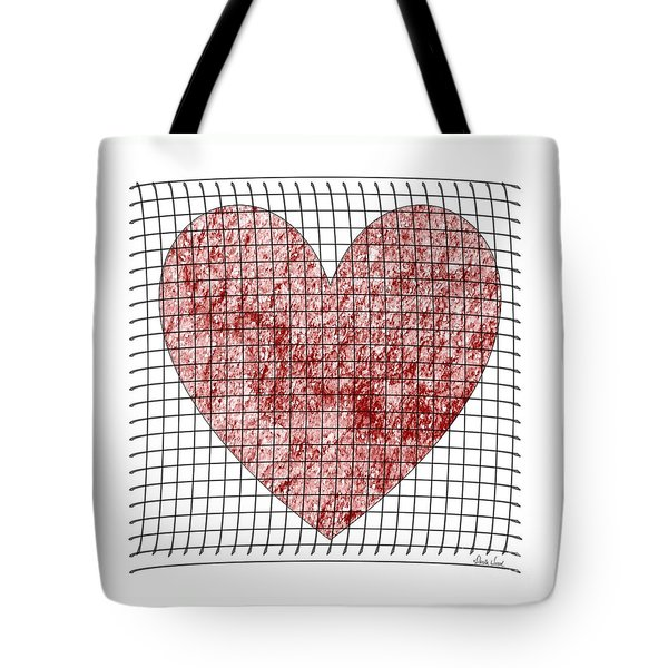 Tote Bag featuring the digital art Captured Love- No2 by Darla Wood