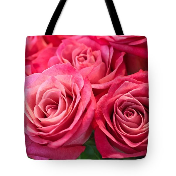 Capturing A Bouquet Tote Bag