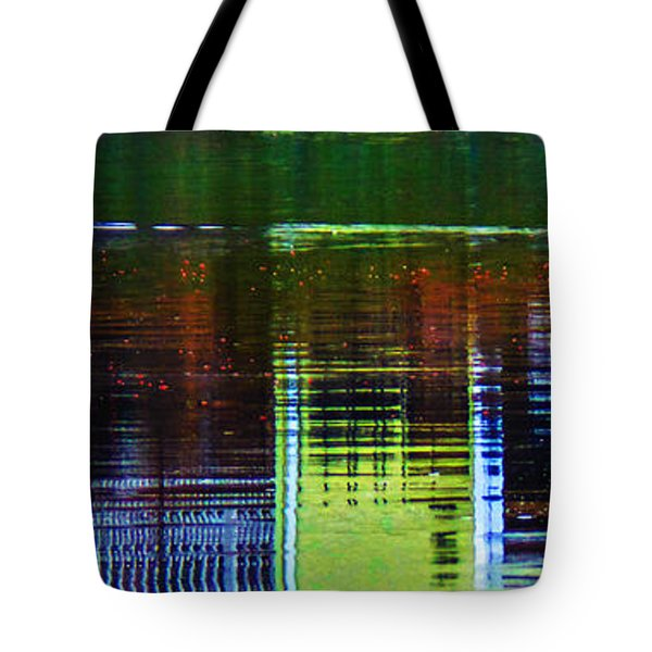 New England Landscape Illusion Tote Bag