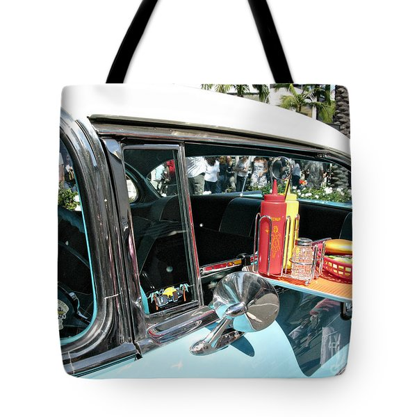 Car Hop Tote Bag by Nina Prommer