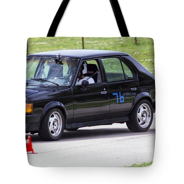 Car No. 76 - 07 Tote Bag