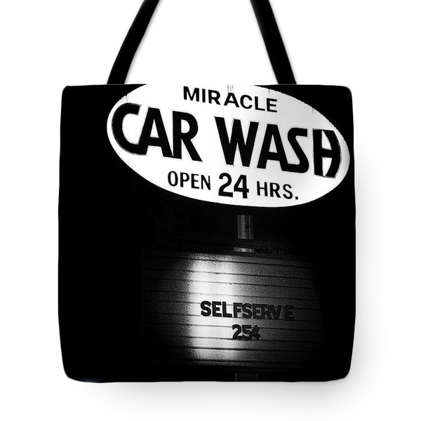 Car Wash Tote Bag