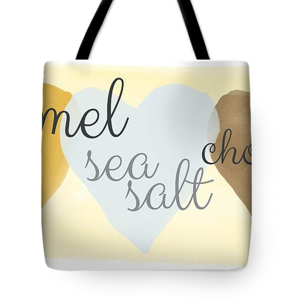 Caramel Sea Salt And Chocolate Tote Bag