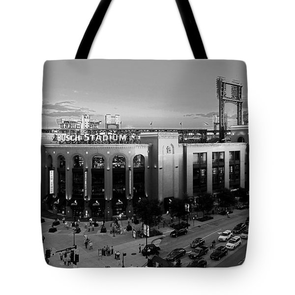 Card Fans Arrive Bw Tote Bag