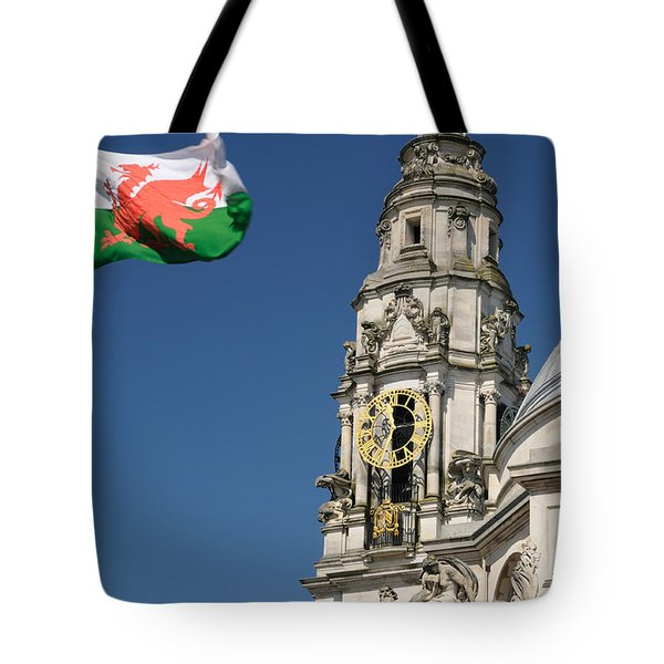Cardiff City Hall Tote Bag