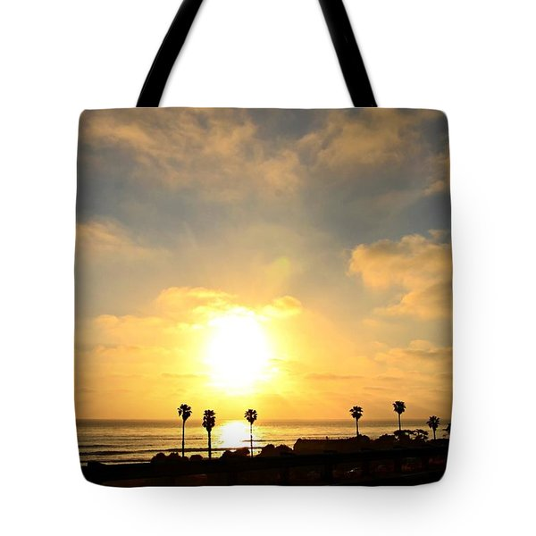 Cardiff Palms Tote Bag