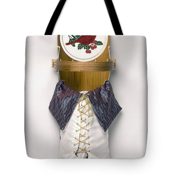 Cardinal Cradleboard Tote Bag