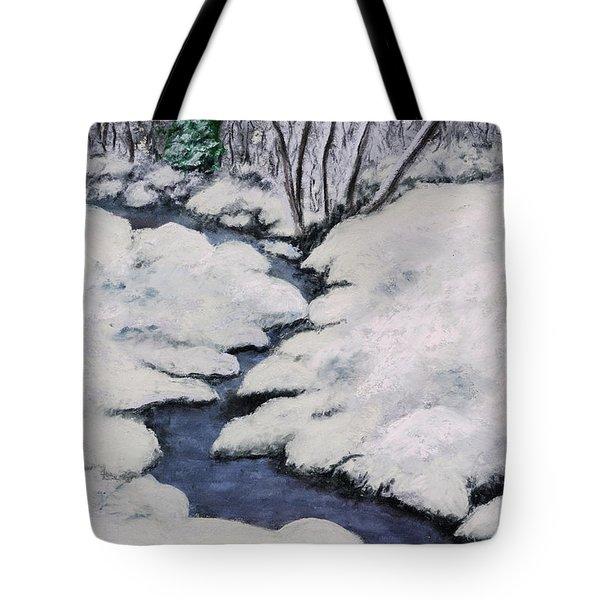 Cardinal Creek Tote Bag by Ginny Neece