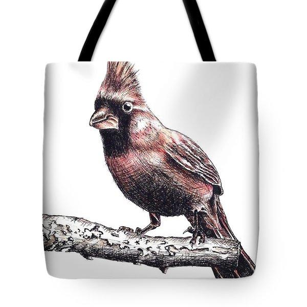Cardinal Male Tote Bag