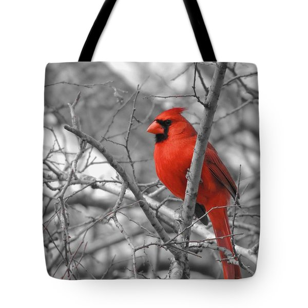 Cardinal Of Hope 002sc Tote Bag