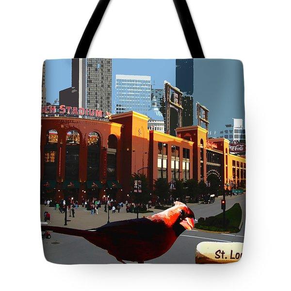 Cardinal Town Tote Bag