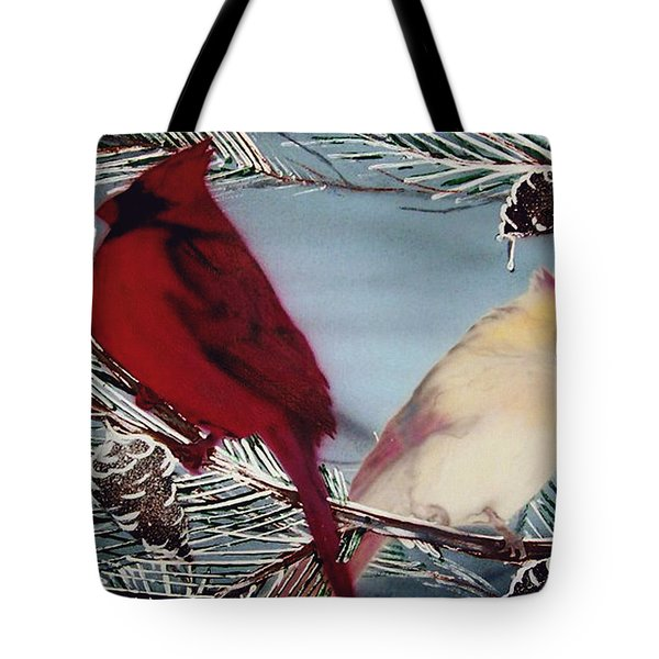 Cardinals Tote Bag