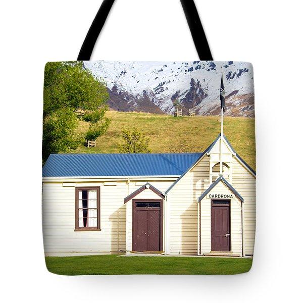 Cardrona Schoolhouse Tote Bag