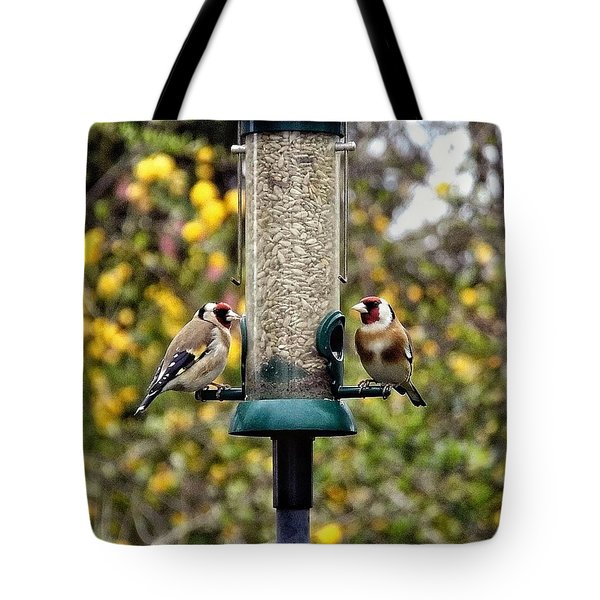Carduelis Carduelis 'goldfinch' Tote Bag