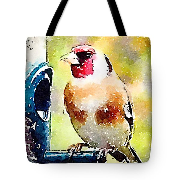 Carduelis Carduelis 'waterfinch' Tote Bag