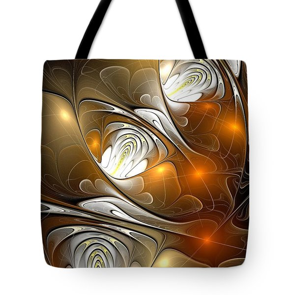 Tote Bag featuring the digital art Carefree by Anastasiya Malakhova