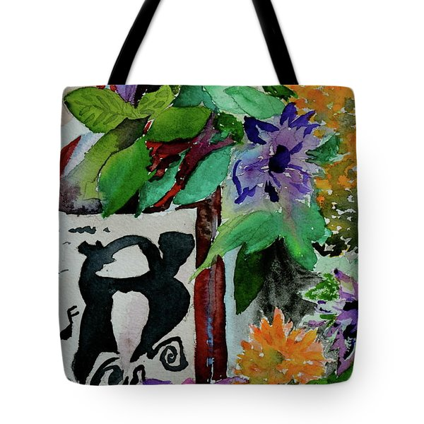 Tote Bag featuring the painting Carefree by Beverley Harper Tinsley