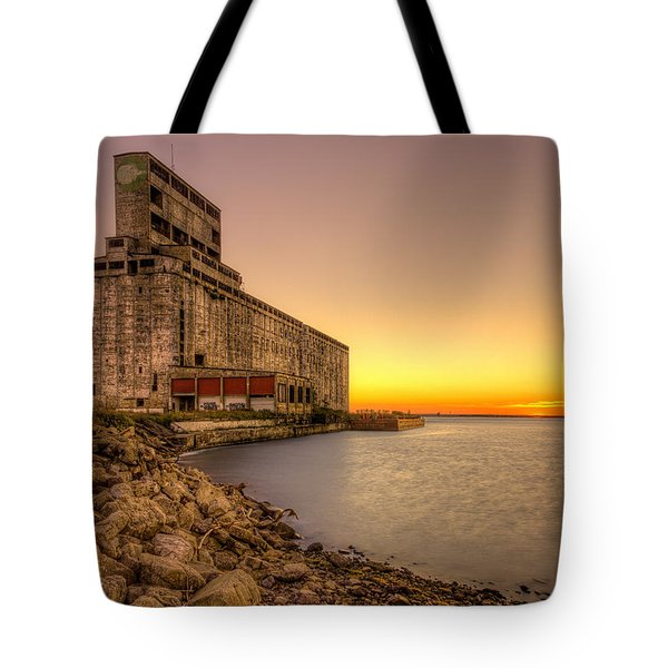 Cargill Pool Elevator Twilight Tote Bag