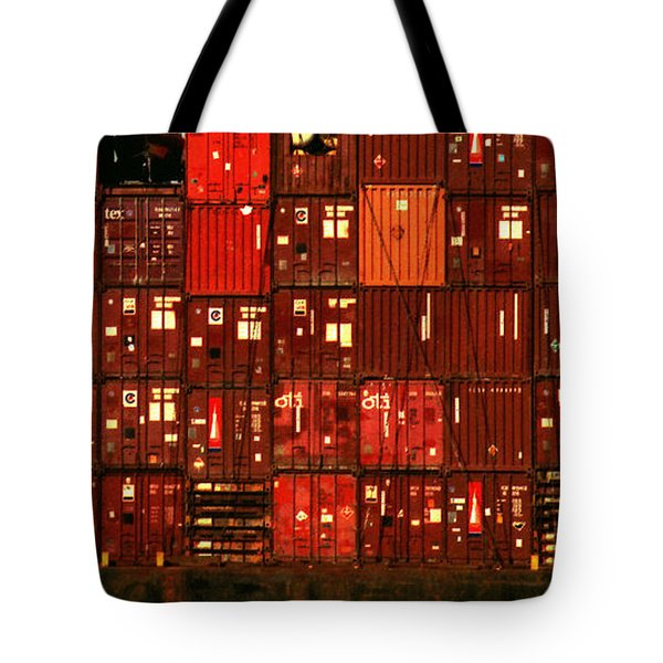 Cargo Containers Port Of Seattle Tote Bag